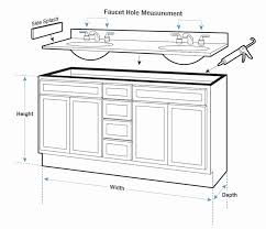 kitchen sink rough in height awesome delightful pedestal s design makeup vanity dimensions table measurements height stool standard bathroom plumbing