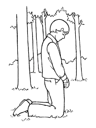 Small Picture Joseph Smith Praying in the Sacred Grove