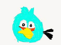 Angry Birds Blue Jay Drawing by dinosandangrybirdfan on DeviantArt