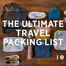 The Ultimate <b>Travel Packing</b> Checklist | Eagle Creek