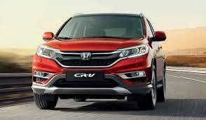 Honda Cr V New Colour Chart And Option Packs