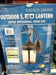 led light fixture beautiful patio lights from com outdoor lighting flood fixtures costco garage ceiling l