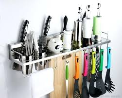 kitchen utensil rack kitchen utensils racks and holders kitchen craft stainless steel utensil hanging rack 52cm