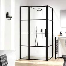 black steel framed shower doors harbour status matt black framed easy clean pivot shower door with black steel framed shower doors