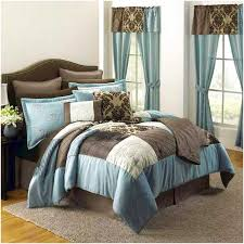 blue and brown duvet cover home design remodeling ideas