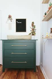 Ikea Rast hacks, 50 of the best Ikea Rast hacks, green nightstand, green