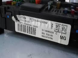 peugeot 206 fuse box the diy motorist