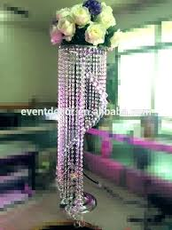 tall crystal chandelier table top centerpieces for weddings decoration how to make table top chandelier centerpieces