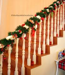Full Image for Christmas Banister Decorations Time Banisters Holidays And  Time Time Banister Banquette Christmas Staircase ...