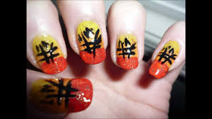 Unique CHINESE NEW YEAR Nail Art Tutorial - YouTube