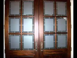 Glass Door Front Door Glass Inserts Interior Double Doors With