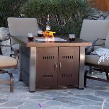 patio propane fireplace outdoor decor