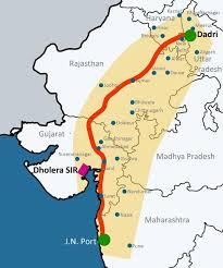 Map highlights the routes of ambala chandigarh expressway through map. Delhi Mumbai Industrial Corridor Dmic Rajasthan Rajras Rajasthan Ras