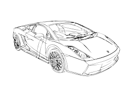 20 new lamborghini coloring pages