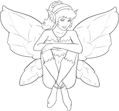 Download Coloring Pages. Fairies Coloring Pages: Fairies Coloring ...