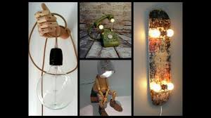 35 Awesome Diy Lamp Ideas Recycled Crafts Ideas Youtube