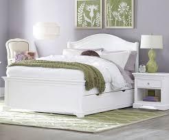 full size bed white