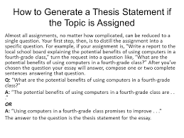 thesis statement lisa simpson on thesis statements topic the thesis statement notes ppt video online