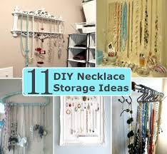 necklace storage ideas necklace storage ideas diy jewelry storage ideas  pinterest