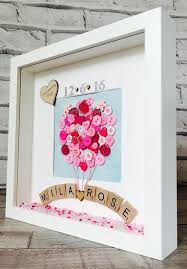 new baby frame personalised new baby gift by magicwondercreations