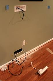 how to run tv cable through walls best how to run cables through wall best of