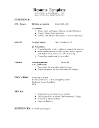 Resume Template For Students With No Experience Examples Graduate