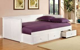 White full storage bed Storage Plan Wolford White Full Size Storage Daybed 667130 Coleman Furniture Wolford White Full Size Storage Daybed From Furniture Of America