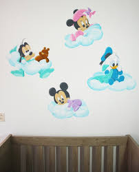baby disney wandschildering minnie mouse goofy donald duck en mickey shaped wall de full