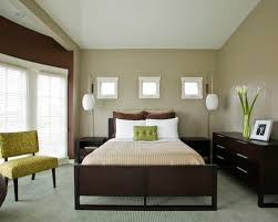 green colored walls. inspiration for a contemporary master carpeted bedroom remodel in santa barbara with gray walls green colored h
