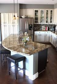 Rounded Kitchen island Unique Best 25 Curved Kitchen island Ideas On  Pinterest Kitchen