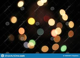 Christmas Lights Cover Photo Blur Blurred Defocused Christmas Lights Bokeh Light Dots