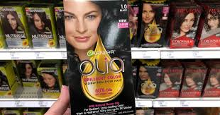 Garnier olia oil powered permanent hair color, $8.97 (online price) use one $3.00 off 1 garnier olia oil powered haircolor coupon (linked above) final price. High Value 5 2 Garnier Olia Hair Color Coupon Just 3 49 Per Box At Target Hip2save