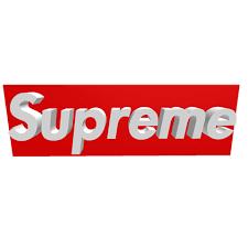 Supreme Logo - Roblox