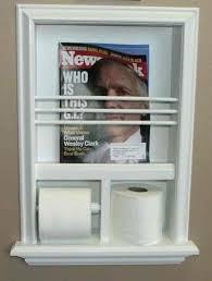 wall mount magazine rack toilet. Toilet Paper Holder With Magazine Rack Recessed Wall Mount Brushed Nickel