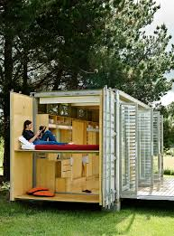 Shipping Crate Home Mobile Homes A Transforming Shipping Container House