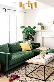 Modern Green Sofa For Apartment Living Room Ideas