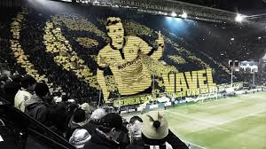 Borussia dortmund fans are one of the most passionate fans in the world. Borussia Dortmund S Tifo Today Proves Again There S No Atmosphere Like What S In The Westfalenstadion