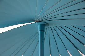 teal color patio umbrella  patio outdoor decoration
