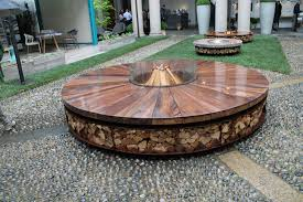 wood fire pits best of wood burning fire pit ideas round fire pit inhabitat