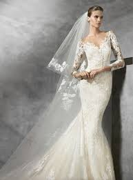 Designer Bridal Gowns With Sleeves Tibet Pronovias Wedding Dress Wedding Dresses Designer