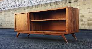 midcentury credenza buffet sideboard by mazor furniture of silver