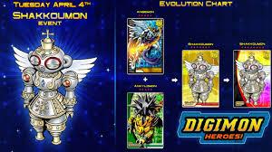 Digimon Heroes Shakkoumon Sp