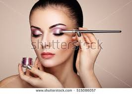 makeup artist applies eye shadow beautiful stock photo image royalty free royalty free 515086057 shutterstock