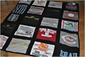 T Shirt Quilt Pattern With Different Size Blocks Classy How To Make A Tshirt Quilt 48 DIY Tutorials Guide Patterns
