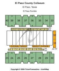 El Paso County Coliseum Tickets And El Paso County Coliseum