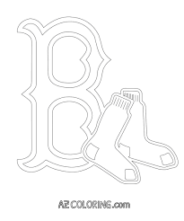 Small Picture Red Sox Coloring Pages jacbme