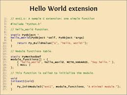 ned batchelder a whirlwind excursion through python c extensions slide 11
