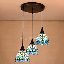3 light pendant light lovely style mini pendant lights with high end peacock pattern 3 light 3 light pendant light chandeliers