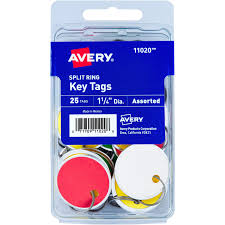We did not find results for: Avery Key Tag 1 25 Diameter Round Metal Ring Fastener 25 Pack Card Stock Red Green Yellow White Icc Business Products