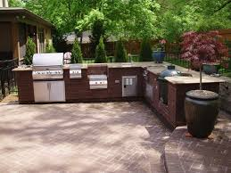 Outdoor Kitchen Gas Grill The Gas Grill The Main Element Of Your Outdoor Kitchen